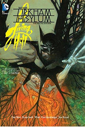 9781401247515: Batman: Arkham Asylum Living Hell Deluxe Edition HC