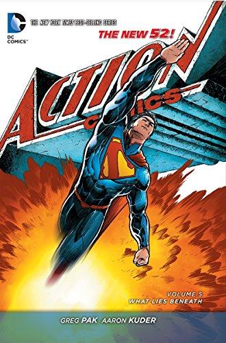 9781401249472: Superman: Action Comics Vol. 5: What Lies Beneath (The New 52)