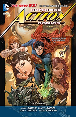9781401250775: Superman: Action Comics Vol. 4: Hybrid (The New 52)