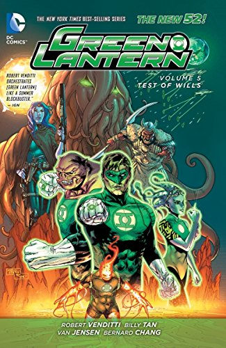 9781401250898: Green Lantern: Volume 5: Test of Wills HC (The New 52)
