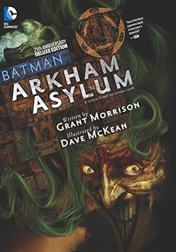 9781401251253: Batman Arkham Asylum 25th Anniversary Deluxe Edition