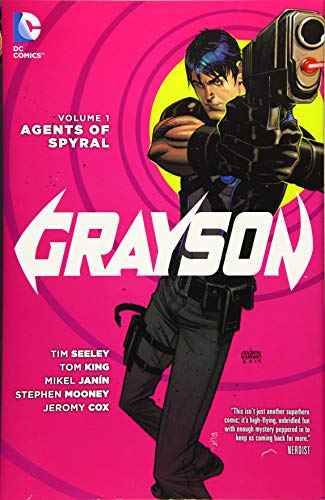 9781401252342: Grayson Volume 1: Agents of Spyral HC (The New 52)