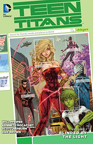 9781401252373: Teen Titans Vol. 1: Blinded by the Light