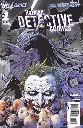 9781401252762: Batman Detective Comics #1 Comic Book / Rare 3rd Print Cover Edition (2012) New 52 - Signed/Autographed by Tony Daniel