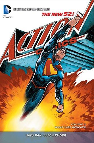 9781401254889: Superman: Action Comics Vol. 5: What Lies Beneath (The New 52)