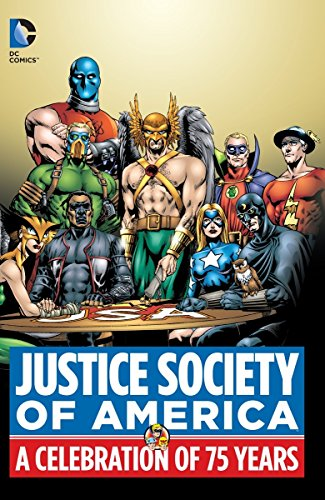 9781401255312: Justice Society of America: A Celebration of 75 Years HC
