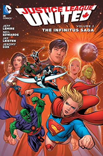 9781401257668: Justice League United Vol. 2: The Infinitus Saga (the New 52)