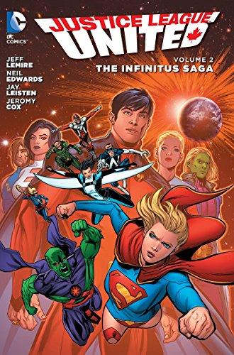 Justice League United Vol. 2: The Infinitus Saga (The New 52)