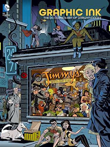 9781401258092: Graphic Ink: The DC Comics Art of Darwyn Cooke