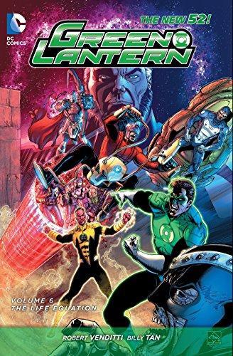 9781401258467: Green Lantern Vol. 6: The Life Equation (The New 52)