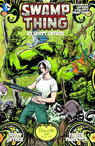 9781401258702: Swamp Thing By Scott Snyder Deluxe Edition (The New 52)