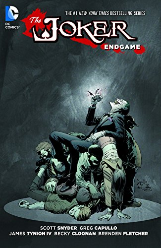 Joker: Endgame HC First Edition NEW Signed Scott Snyder
