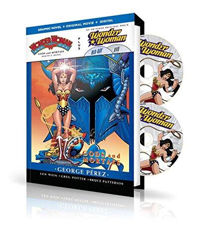 9781401260026: WONDER WOMAN GODS & MORTAL HC BOOK & DVD BLU RAY SET