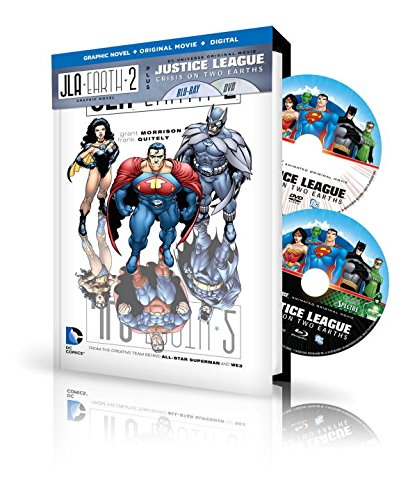 JLA: Earth 2 Book & DVD Set (Jla (Justice League of America)): Grant Morrison