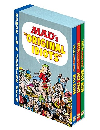9781401260057: MAD Slipcase Set: Complete Collection of Will Elder, Jack Davis and Wally Wood