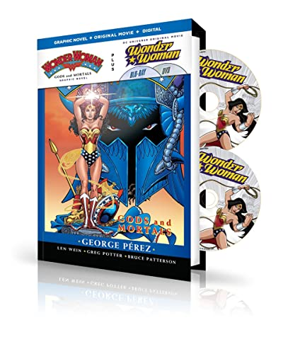 9781401260552: Wonder Woman: Gods & Mortals Book & DVD Set (Canadian Edition)