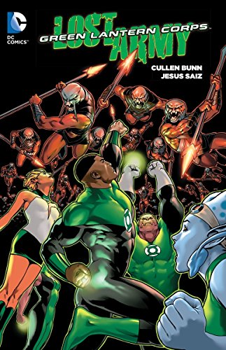 9781401261269: Green Lantern Corps Lost Army TP Vol 1