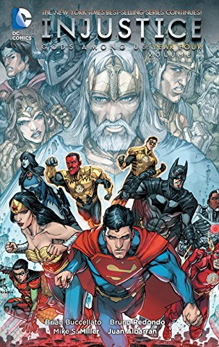 9781401261306: Injustice Gods Among Us Year Four HC Vol 1