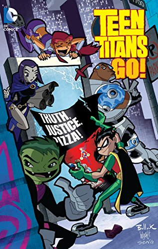 9781401261962: Teen Titans Go!: Truth, Justice, Pizza