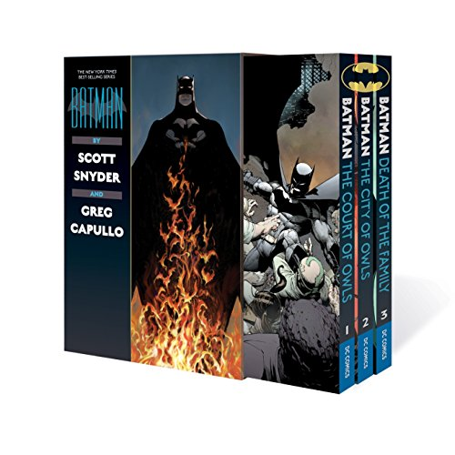 Batman by Scott Snyder & Greg Capullo Box Set (Paperback): Scott Snyder
