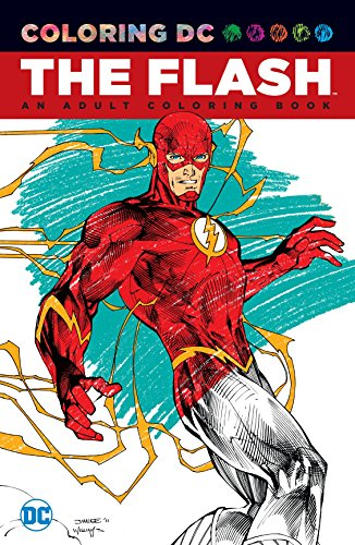 The Flash: An Adult Coloring Book (Paperback or Softback)