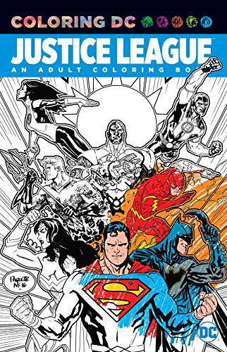 Justice League: An Adult Coloring Book: