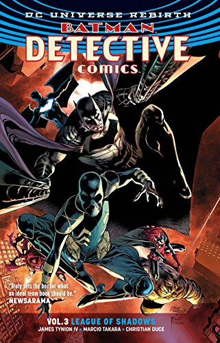 Batman: Detective Comics Vol. 3: League Of Shadows (rebirth):