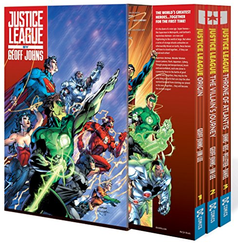 Justice League By Geoff Johns Box Set Vol. 1: