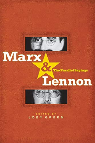 Marx & Lennon: The Parallel Sayings (1401308090) by Joey Green