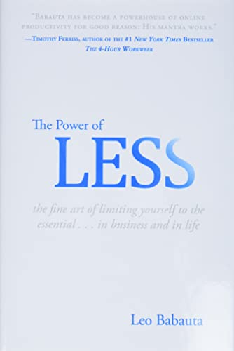 9781401309701: The Power Of Less: The Fine Art of Limiting Yourself to the Essential