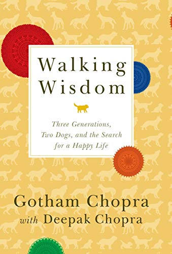9781401310349: Walking Wisdom: Three Generations, Two Dogs, and the Search for a Happy Life