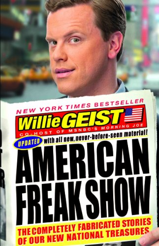 9781401310523: American Freak Show: The Completely Fabricated Stories of Our New National Treasures