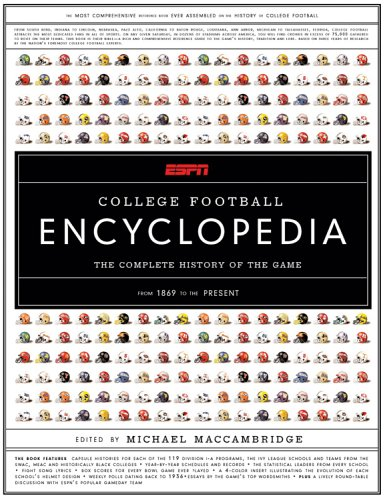 9781401337032: ESPN College Football Encyclopedia: The Complete History of the Game