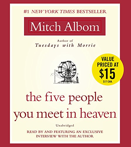 9781401391348: The Five People You Meet in Heaven