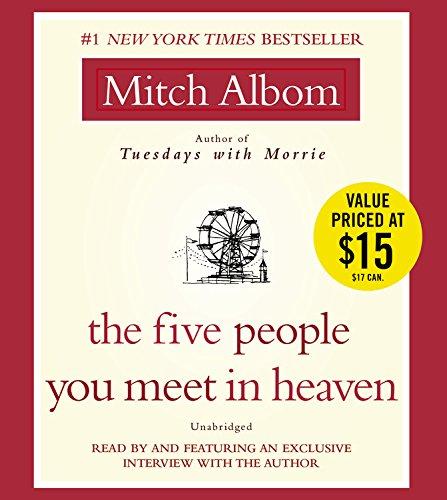 9781401391348: The Five People You Meet in Heaven
