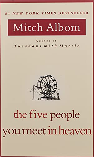9781401398033: The Five People You Meet in Heaven International Edition