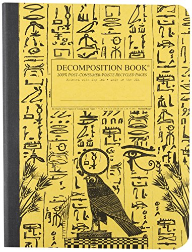 9781401504151: Hieroglyphics Decomposition Book: College-ruled Composition Notebook With 100% Post-consumer-waste Recycled Pages