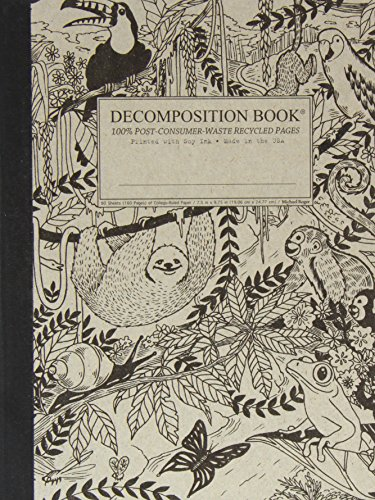 9781401504311: Rainforest Decomposition Book: College-ruled Composition Notebook With 100% Post-consumer-waste Recycled Pages