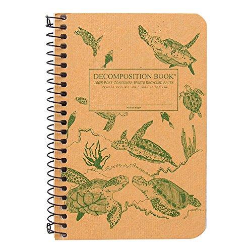 Sea Turtles Pocket Coilbound Decomposition Book: Michael Roger, Inc.