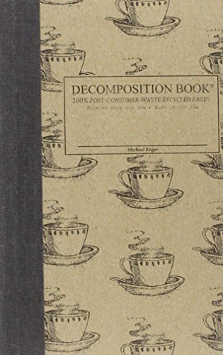 9781401530617: Coffee Cup Pocket-Size Decomposition Book: College-ruled Composition Notebook With 100% Post-consumer-waste Recycled Pages
