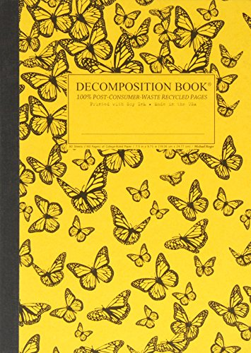 9781401533083: Monarch Migration Decomposition Book: College-ruled Composition Notebook With 100% Post-consumer-waste Recycled Pages