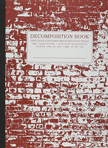 9781401584085: Brick in the Wall Decomposition Book: Blank (Unruled) Composition Notebook With 100% Post-consumer-waste Recycled Pages