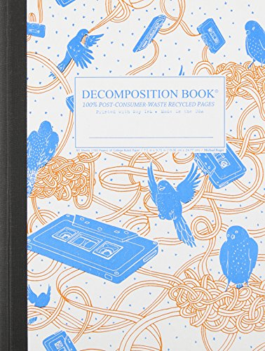 9781401590697: Bird Song Decomposition Book: College-ruled Composition Notebook With 100% Post-consumer-waste Recycled Pages