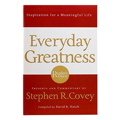 9781401602413: Everyday Greatness: Inspiration for a Meaningful Life
