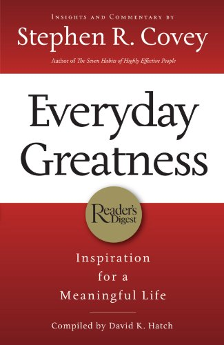 9781401603564: Everyday Greatness (Internationa Edition): Inspiration for a Meaningful Life