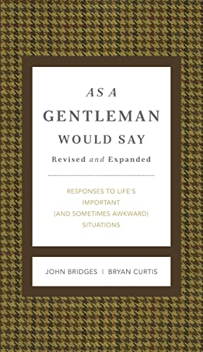 9781401604691: As A Gentleman Would Say (GentleManners)