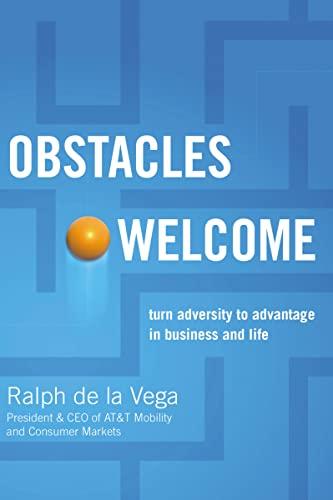 Obstacles Welcome: de la Vega, Ralph