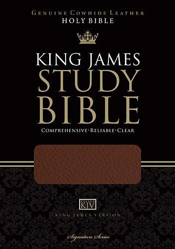 9781401675189: Holy Bible: King James Version, Study Bible