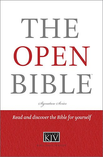 9781401675592: The Open Bible (Signature)