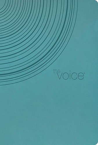 9781401676520: The Voice Bible: Peacock Blue, Leathersoft, Step into the Story of Scripture